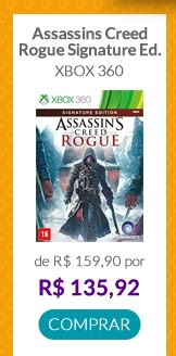 ASSASSIN'S CREED - ROGUE - SIGNATURE ED. (X360)